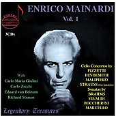 Legendary Treasures - Enrico Mainardi Vol 1