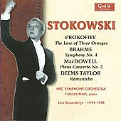 Prokofiev, Brahms, MacDowell, Taylor / Stokowski, NBC SO