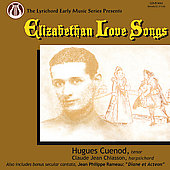 Elizabethan Love Songs - Dowland, Rosseter, etc / Hugues Cuenod, Claude Jean Chiasson