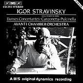 Stravinsky: Danses Concertantes, etc / Saraste, Avanti CO