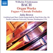 Wilhelm Friedemann Bach: Organ Works
