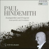 Paul Hindemith: Avant-Gardist And Freethinker [4 CDs]
