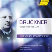 Bruckner: Symphonies Nos. 7, 9 / Sanderling, Giulini