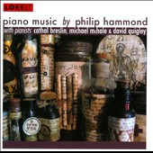Piano Music by Philip Hammond / Cathal Breslin, Michael McHale, & David Quigley