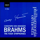Brahms: The Four Symphonies / Dohnanyi - Philharmonia Orchestra