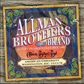 The Allman Brothers Band: American University 12/13/70