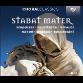 Stabat Mater - works by Pergolesi, Palestrina, Vivaldi, Haydn, Dvorak, Boccherini [4 CDs]