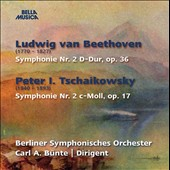 Beethoven: Symphony no2; Tchaikovsky: Symphony no 2 / Berlin SO