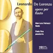 De Lorenzo: Works For Flute / Gian-Luca Petrucci, Paola Pisa