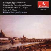Telemann: Concertos, Suite in A minor / Philomel Baroque