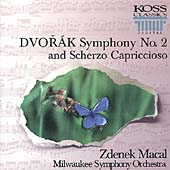 Dvorak: Symphony no 2, Scherzo Capriccioso / Zdenek Macal, Milwaukee SO
