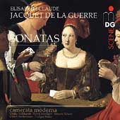 SCENE  Jacquet de la Guerre: Sonatas / Camerata Moderna