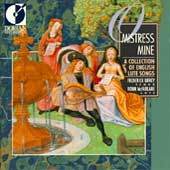 O Mistress Mine - A Collection of English Lute Songs / Urrey