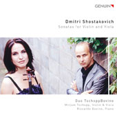 Dmitri Shostakovich: Sonatas for Violin and Viola