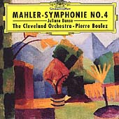 Mahler: Symphony no 4 / Boulez, Bance, Preucil, et al