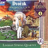 Dvorak: String Quartets no 12 & 13 / Lindsay String Quartet