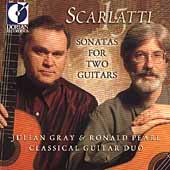 Scarlatti 15 - Sonatas for Two Guitars / Gray & Pearl Duo