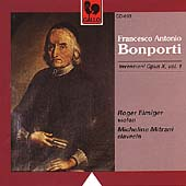 Bonporti: Invenzioni Op. 10 Vol 1 / Elmiger, Mitrani