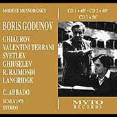 Mussorgsky: Boris Godunov / Abbado, Ghiaurov, Raimondi, etc