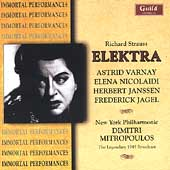 Strauss: Elektra / Mitropoulos, Varnay, Nicolaidi, et al