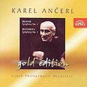 Ancerl Gold Edition 9 - Brahms: Symphony no 1;  Beethoven