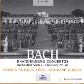 Bach: Brandenberg Concertos, Orchestral Suites, etc / Goebel