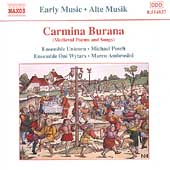 Early Music - Carmina Burana / Posch, Ambrosini, et al