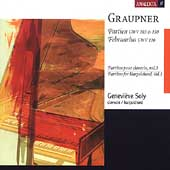 Graupner: Partitas for Harpsichord Vol 3 / Geneviève Soly
