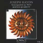 Haydn: Sonnenquartette Op 20, 4-6 / Kocian Quartet