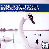 Saint-Saëns: Carnival of the Animals, etc/ Ross Pople, et al