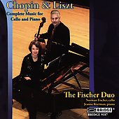 Chopin, Liszt: Music for Cello and Piano / The Fischer Duo