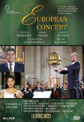The European Concert / Abbado, Barenboim, Haitink, Mehta, Domingo, Chang [4 DVD]