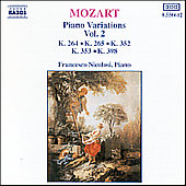 Mozart: Piano Variations Vol. 2