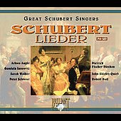 Schubert: Lieder / Schreier, Auger, Fischer-Diskau, et al
