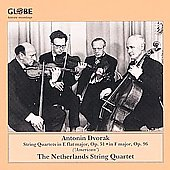 Dvor&#225;k: String Quartets / Netherlands String Quartet