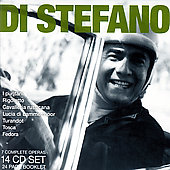 Giordano: Fedora;  Puccini: Turandot,  etc / Di Stefano