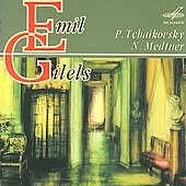 Tchaikovsky: Piano Sonata, 6 Pieces;  Medtner: Piano Sonata in G minor / Emil Gilels