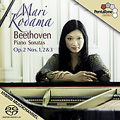 Beethoven: Piano Sonatas Op. 2 / Mari Kodama