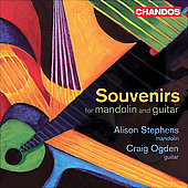 Souvenirs for Mandolin and Guitar / Alison Stephens
