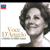Voce D'angelo: A Portrait Of Renata Tebaldi (Ltd)
