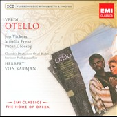 Verdi: Otello / Karajan, Vickers [Includes CD-ROM]