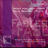 Fables: Works for oboe by W.F. Bach, Ginastera, Suter / Holliger