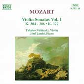 Mozart: Violin Sonatas Vol 1 / Takako Nishizaki, Jen&ouml; Jand&oacute;