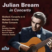 Julian Bream in Concerto / Concertos by Giuliani & Arnold