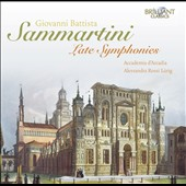 Sammartini: Late Symphonies / Accademia d'Arcadia - Lurig