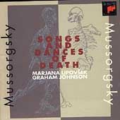 Mussorgsky: Songs and Dances of Death / Lipovsek, Johnson