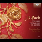 J.S. Bach: Complete Harpsichord Concertos / Burkhard Glaetzner, Neues Bachisches Collegium Musicum / Christine Schornsheim, Pieter-Jan Belder, et. al., harpsichord