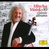 Mischa Maisky - 10 Classic Albums: includes Bach Suites; Concerto and recital CDs / Mischa Maisky, cello