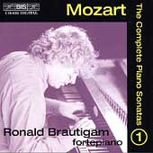 Mozart: The Complete Piano Sonatas Vol 1 / Ronald Brautigam