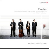 Phantasy - Piano Quartets by Bridge, Martinu & Schumann / Mariani Piano Quartet